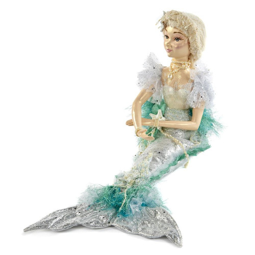 Mermaid Handmade Display Doll