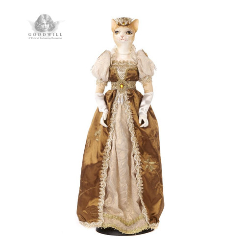 Josephine Cat Doll has been beautiful hand crafted.