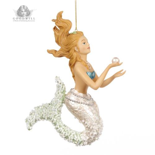 Large Mermaid Christmas tree ornament