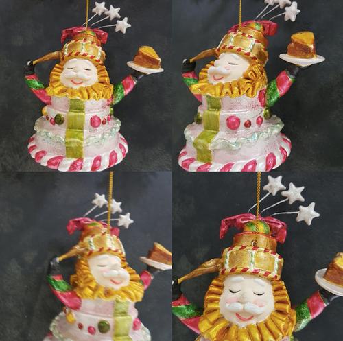 Chef Christmas Tree Decoration Display