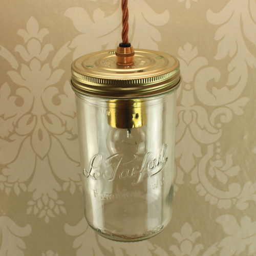 Le Parfait 1Ltr Single with Wired Lampholder