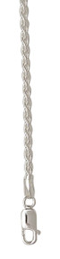 Sterling Silver - 1.5mm Wheat Chain
