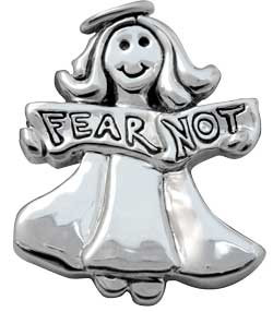 """""""fear not""""angle pin"""