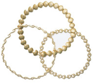14k Gold Horse Tack Necklace