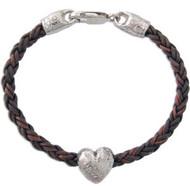 Big Heart Bead Bracelet