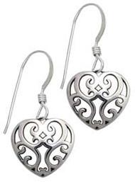 Juliet's Heart Earrings