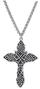 Triple Braid Celtic Cross