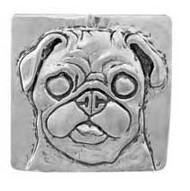 Pug Brooch