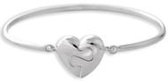 Puzzled Heart Bracelet