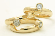 Stone Stack Rings