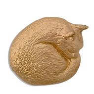 Cat Nap Brooch