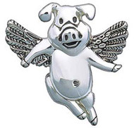 When Pigs Fly - Pin/Pendant Combination