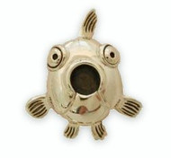Fish Face Brooch