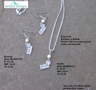 Dog lover Bauble - Earrings