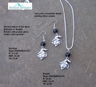Wicked Witch of the West Bauble - Earrings