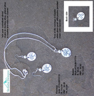 'Tree of Life' Bauble & Earrings