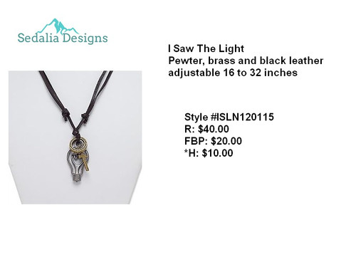 'I Saw The Light' Necklace