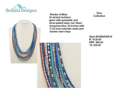 'Shades of Blue' Diva collection