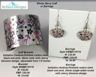 Winter Berry Cuff