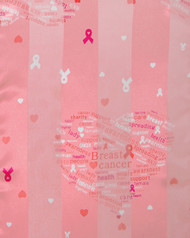 """BE SURE TO PUT """"SCARF"""" IN THE SEARCH....WE HAVE DOZENS TO CHOOSE FROM STARTING AT 6.00 AND EACH GIVES BACK! **This purchase will also donate 1 scarf with earrings to a cancer patient**  resell for 18.00 Pink / 100% Polyester / 13x60 Satin Stripe: Pink Ribbon Style #APS092017g"""