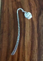 Resell for 9.00 or more Pewter apple  No 1 teacher Bookmark Style #N1TBM111717g