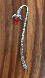 Resell for 9.00 or more Pewter bookmark Red crystal angel Style #RACBM021918g