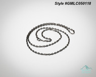 26 inch Gunmetal Locket Chain  Locket sold separate.  zinc alloy  Style #GMLC050118