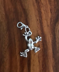 Resell for 9.00 or more Pewter frog Lobster clasp bauble Style #FB051118