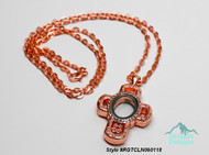 Style #RGTCLN060118  Rose Gold Tone Magnetic Locket Necklace.  26 inch chain included.
