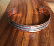 Resell for 36.00 or more Unisex copper cuff bracelet 11mm wide. 8 inches Style #UCCB072418