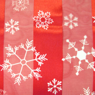 """**This purchase will also donate 1 scarf with earrings to a cancer patient** *search scarves to see all we have available. 3 available 8.00 resell for 24.00 or more • Color : Red • Theme : Christmas, Snowflake  • Size : 13"""" X 58"""" • 100% Polyester • Satin Striped Snowflake Print Scarf. Style #RCS103118"""