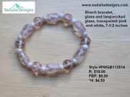 Stretch Lampworked Bracelet