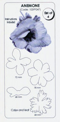JEM CUTTER ANEMONE SET/4