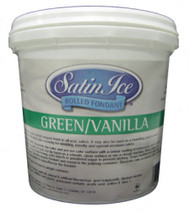 SATIN ICE ROLLED FOND. 5# GREEN