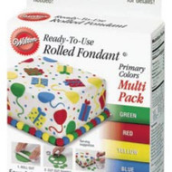 WILTON ROLLED FONDANT PRIMARY COLORS