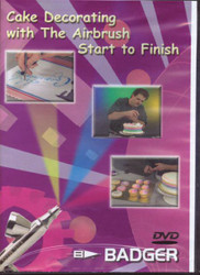 CAKE DECORATING W/AIRBRUSH DVD