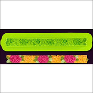 Floral Border--Marvelous Molds Silicone Mold