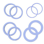 """SPACER RING SET/4 FOR 2"""" ROLLING PIN"""