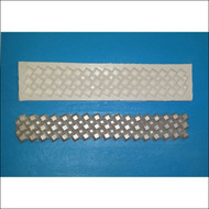 Diamond-Shaped Gem Border Mold -  Silicone