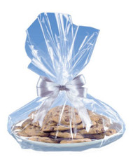 COOKIE TRAY BAGS: CLEAR--PKG/6