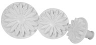 DAISY-SUNFLOWER-MARGUERITE PLUNGER SET OF 3