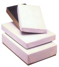 WHITE WRAPPED BOX--VARIETY OF SIZES