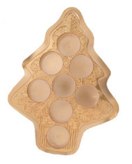 JEWEL B0X-8 PC #5 CANDY CUP TREE-GOLD