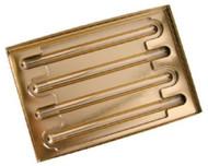 4 PRETZEL BOX W/GOLD INSERT