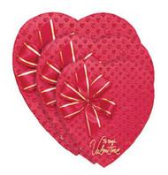 1# HEART BOX FOIL/RIBBON HAPPY VALENTINES DAY