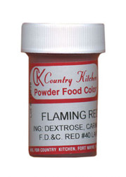CK POWDERED COLOR-FLAMING RED-9 grams