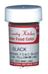 CK POWDERED COLOR-BLACK-9 grams