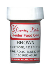 CK POWDERED COLOR-BROWN-9 grams