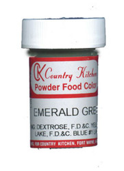CK POWDERED COLOR-EMERALD GREEN-9 grams