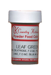 CK POWDERED COLOR-LEAF GREEN-9 grams